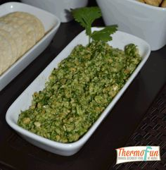 Enjoy making your own exotic dips at home with your Thermomix. Then sit back with family, friends and a glass of wine. Enjoying more time with your family when you