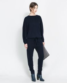 ZARA - NEW THIS WEEK - KNITTED JUMPSUIT