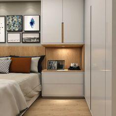 Bedroom Built Ins, Master Bedroom Interior, Small Master Bedroom, Home Bedroom, Bedroom Decor, Wardrobe Design Bedroom, Bedroom Bed Design, Home Room Design, Modern Bedroom Design