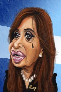 cristina_argentina_caricatura_kikelin | Flickr - Photo Sharing!