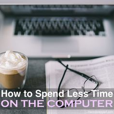 Looking to reduce your screen time? Here's six tips to help you spend less time on the computer. Onenote Template, Appointment Calendar, Notebook Organization, Best Positions, Local Library, Make Sure, Time Management Tips, Educational Games, Pen And Paper