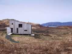 Unique small house on the western coast of Isle of Skye. Rural Design Architects.