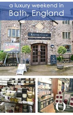 Kilver Court Designer Village is located in Shepton Mallet, under an hour from Bath, England, and it's the home of Mulberry. Kilver Court offers designer goods at discounted prices all year round. Made up of two buildings, you can find brands like LK Bennet, Pringle, Agnes b, Joseph, Joseph Joseph, REN, True Grace, Neom Organics and more - at discounts up to 70%! Not too bad! And you can also visit the gardens - which are beautiful!