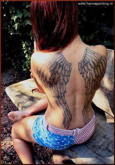 jagua huito vleugels tattoo