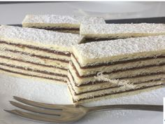Hungarian Cake, Hungarian Recipes, Hungarian Food, Vanilla Cake, Tiramisu, Food And Drink, Snacks, Ethnic Recipes, Kitchen