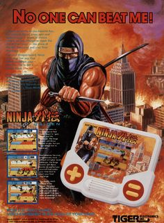 """To talk about nostalgia, just say the phrase """"ninja gaiden"""" and i'm all in. want some more nostalgia? check out these awesome old school gaming ads. Vintage Video Games, Classic Video Games, Retro Video Games, Vintage Games, Retro Games, Toys R Us Kids, Mega Drive Games, 1980s Kids, Tigers Game"""