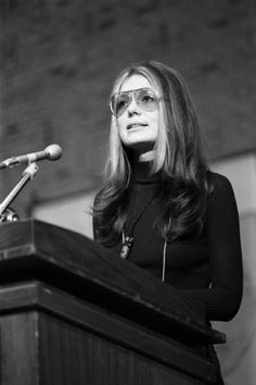 Activist Gloria Steinem At Wright State. Each photograph is then printed on REAL chemically processed archival photo paper. At The McMahan Photo Archive, you are always buying the best! Gloria Steinem, John Lennon And Yoko, Photo Print, Heart Shaped Sunglasses, Great Women, 70s Fashion, Powerful Women, Role Models, Girl Power