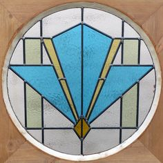 art deco stained glass door from phs stained glass supplies st Modern Stained Glass, Stained Glass Door, Stained Glass Panels, Stained Glass Supplies, Stained Glass Projects, Art Deco Artwork, Gothic, Blown Glass Art, Glass Pumpkins