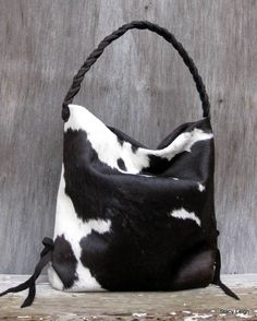 cowhide bag by stacy leigh