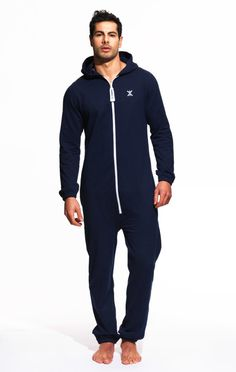 Mono Onesie Midnight Blue - Mens