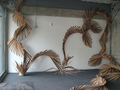 A Reclaimed Wood Installation Sourced From the San Francisco Dump by Barbara Holmes