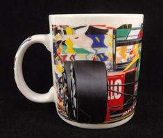 Chaleur Formula One 1989 Randy Owens Coffee Tea Mug Riello Mobil Goodyear Racing #Chaleur #coffeeteamug