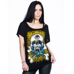 #punk #skull #skate #top http://toxico.uk/20-t-shirts £20