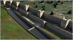 Theodosian Walls. Probably one of the most formidable defensive structures built before the advent of modern weaponry. Three sets of walls that stretch across the entire Golden Horn. Cordus' capital will have a set of these.