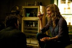 Miles and Rachel enjoying a drink, wish I knew what they were talking about