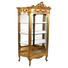 Check out this item at One Kings Lane! French Single-Door Vitrine