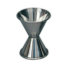 Magnuson Industries 4098 1 oz x 1 1/2 oz Stainless Steel Jigger by Magnuson Industries. $3.99. Jiggers are the traditional way to measure pours of liquor, and in the hands of a skilled bartender, are just as fast as measured pourers. They are divided into two cups, with each cup having a different capacity. The jiggers from Magnuson Industries are made from corrosion-resistant, durable stainless steel and feature portion sizes that are common in many recipes to preve...