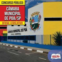 Apostilas Concurso Câmara Municipal de Poá / SP - 2015/2016: - Cargos: Porteiro e Oficial Legislativo