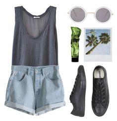"""""""Festival"""" by cigerett ❤ liked on Polyvore featuring American Vintage, ASOS, MTWTFSS Weekday, Converse, Summer, festival and summerfashion"""