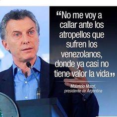 """regram @venezueladice El presidente de Argentina Mauricio Macri llamó a """"hacer lo imposible"""" para que el referendo sobre la revocación del presidente venezolano Nicolás Maduro ocurra este año y se mostró muy crítico con el papel de la Unión de Naciones Suramericanas (Unasur). - El presidente argentino dijo que hay que """"hacer lo imposible para que este año se lleve a cabo el proceso revocatorio que Maduro quiere impedir"""" y apuntó que le """"genera una gran indignación y una gran angustia"""" la…"""