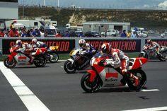 Start of Moto GP race