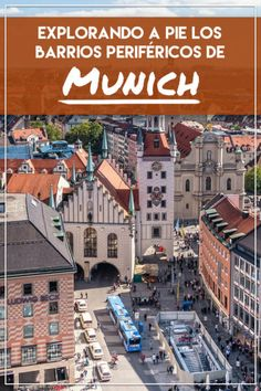 21 Lugares que visitar y que ver en Munich, Alemania - Travel to Blank Top Travel Destinations, Places To Travel, Germany Travel, Wonderful Places, Times Square, Vacation, Adventure, Mansions, House Styles