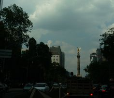 Paseo de la Reforma (Ángel de la Independencia). Ciudad de México.