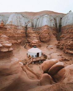 I want to stay in a yurt at Goblin Valley State Park, Utah Places To Travel, Places To See, Travel Destinations, Foto Nature, Goblin Valley, Into The West, Photos Voyages, Unique Architecture, Camping