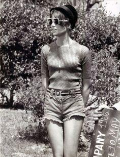 Françoise Hardy, 1966, vintage, actress, singer.
