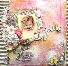DT layout for 2 Crafty Chipboard. By Di Garling