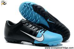 Latest Listing Blue Black Nike GS III ACC TF Shoes Store