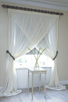 Window Blind Ideas - CLICK THE PICTURE for Many Window Treatment Ideas. #curtains #livingroomideas