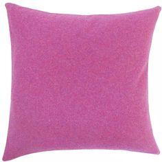 Saeran Solid Wool Throw Pillow
