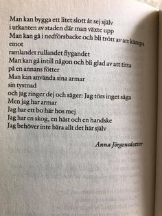 gå, sa jag, och dog när du gick | Sandra Beijer Love Me Quotes, Words Quotes, Best Quotes, Funny Quotes, Sayings, The Words, Writing Art, Different Quotes, Self Compassion