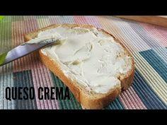 QUESO CREMA CASERO (Muy parecido al queso philadelphia) - YouTube Queso Cheese, Camembert Cheese, Dips, Food, Youtube, Cream Cheese Recipes, Biscuit Cake, Homemade Recipe, Skimmed Milk