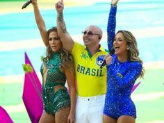 Looks & Curiosidades: Abertura da Copa do Mundo 2014 no Brasil