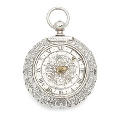 Goullons, Paris. A large silver clock coach watch with alarm (af) Date: Circa 1680  WATCHES AND WRISTWATCHES 20 Feb 2018, 13:00 GMT  LONDON, KNIGHTSBRIDGE