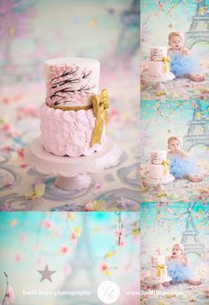 First Birthday Cake Smash by Heidi Hope Photography
