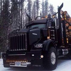 Badass Logging Semi Truck