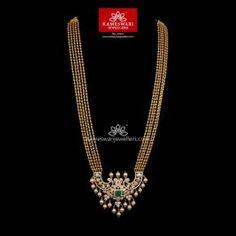 Gundumala with Cz Pachi Pendant Gold Jewellery Design, Gold Jewelry, Beaded Jewelry, Gold Pendent, Chevron Necklace, India Jewelry, Neck Piece, Gold Pattern, Short Necklace