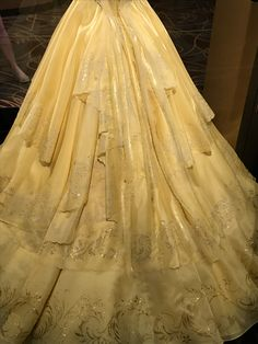 "For all of you saying Belle's new dress isn't ""intricate"" enough"