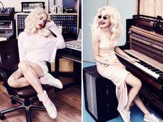Rita Ora for Superga - Telegraph