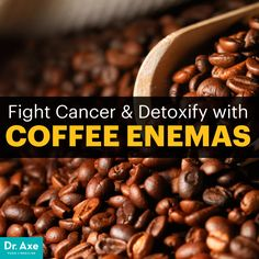 Not the most exciting idea, but makes sense! Coffee enema - Dr. Axe
