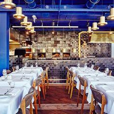The Roast Room in #amsterdam by @studiomodijefsky and @studiomolen photo by Maarten Willemstein #adgermany #adontheroad #restaurant