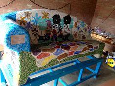 Social sofa: 3 maanden met enkele buurtbewoners aan deze bank gewerkt!!