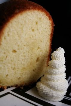 Best Pound Cake, from an old Southern Living cookbook. Sweet, Moist, and just delicious.