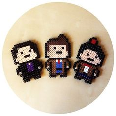 tumblr_m5ltan8Y2m1qg5oozo1_500.jpg (500×500) JUST might have to do this! Perler Bead Doctor Who :D :D :D