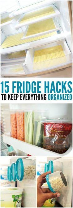 15 Fridge Hacks to Keep Everything Organized