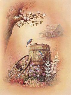 Картинки для декупажа. Птицы. Обсуждение на LiveInternet - Российский Сервис Онлайн-Дневников