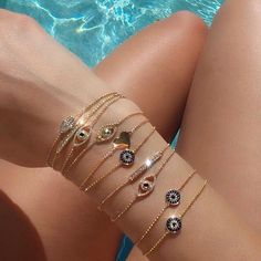 accessories, bracelet, and summer image